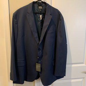 Joseph Abboud men's 3X navy sport jacket